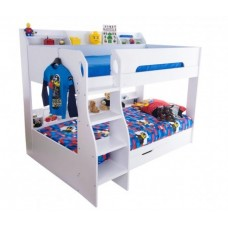 3FT FLICK BUNK BED IN WHITE