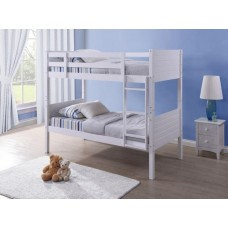 3FT WHITE BEDFORD BUNK BED