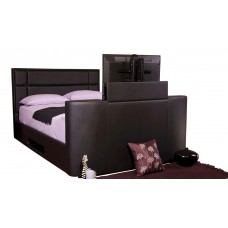 4FT6 SWEET DREAMS HAYDEN TV BED IN BLACK
