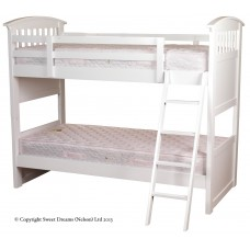 3FT SWEET DREAMS RUBY WHITE BUNK BED