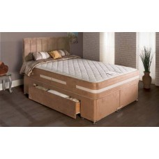 5FT SLUMBERDREAM MAYFAIR OPEN COIL MEMORY FOAM ZIP & LINK DIVAN