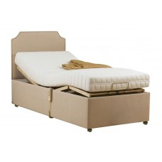 6FT SWEET DREAMS BRIGHTON ADJUSTABLE BED WITH MEMORY FOAM MATTRESS
