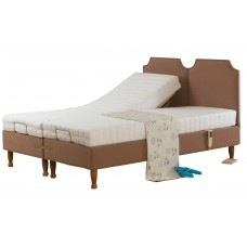 3FT SWEET DREAMS FONTWELL ADJUSTABLE BED WITH MEMORY FOAM MATTRESS