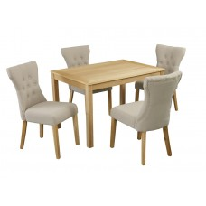 OAKRIDGE TABLE & NAPLES CHAIRS