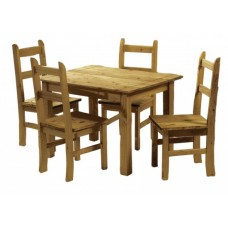 ECUADOR DINING TABLE WITHH 4 CHAIRS