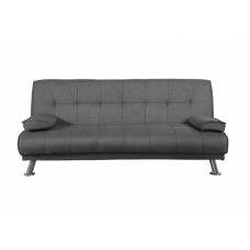 LOGAN GREY FABRIC SOFABED