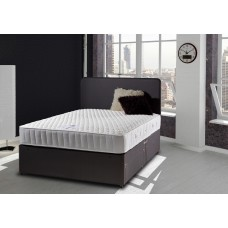 2FT6 DELUXE BEDS LUDLOW LATEX 1000 POCKET S/EDGE DIVAN