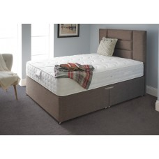 2FT6 DELUXE BEDS HAWES 1000 POCKET S/EDGE DIVAN