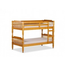 2FT6 AMANI COLONIAL HONEY SPINDLE BUNK BED FRAME