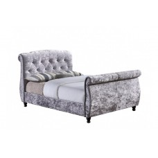 6FT BIRLEA TOULOUSE GREY FABRIC BED FRAME