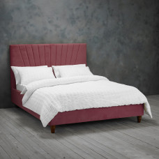 4FT6 LPD LEXIE BED FRAME IN PINK