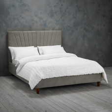 4FT6 LPD LEXIE BED FRAME IN SILVER