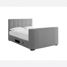 5FT LPD MAYFAIR TV BED FRAME IN GREY