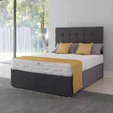 5FT MILLBROOK LUXURY FIRM 2000 ZIP AND LINK DIVAN SET