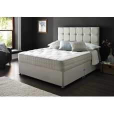 6FT DEEP SLEEP ORTHO POCKET 1000 EXTRA LONG DIVAN SET