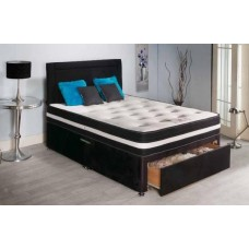 4FT SLUMBERDREAM BANBURY SPRING AND MEMORY FOAM DIVAN