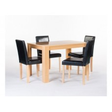 CAMBRIDGE DINING TABLE WITH 4 CHAIRS